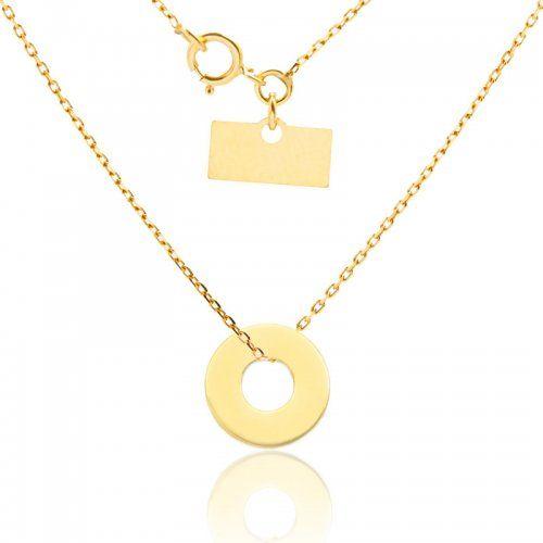 biżuteria-damska łańcuszek złoty