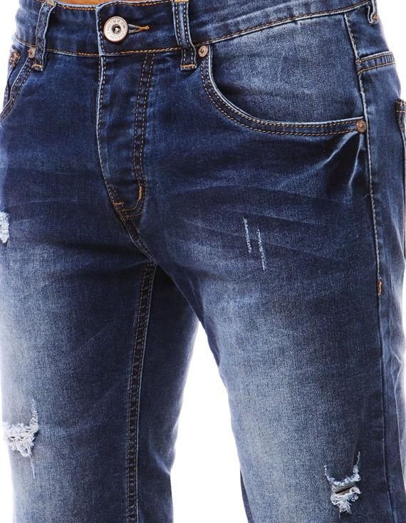 jeansowe spodnie - przykładowy model